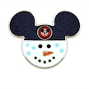 Disney Holiday Pin - Mickey Mouse Club Snowman Pin