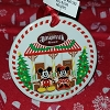 Disney Disc Ornament - 2017 Boardwalk Resort Gingerbread Scene