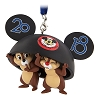 Disney Ornament - Disney World 2018 Logo Chip & Dale Ears Hat