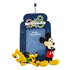 Disney Frame Ornament - Disney World 2018 Logo Mickey Mouse & Pluto