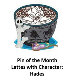 Disney Latte with Character Pin - #10 Hades