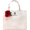 Disney Loungefly Satchel - Beauty and the Beast - Embossed Belle Rose