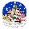 Disney Christmas Day Pin - 2017 Merry Christmas - Mickey and Minnie