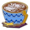 Disney Latte with Character Pin - #03 Genie