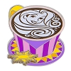 Disney Latte with Character Pin - #06 Rapunzel