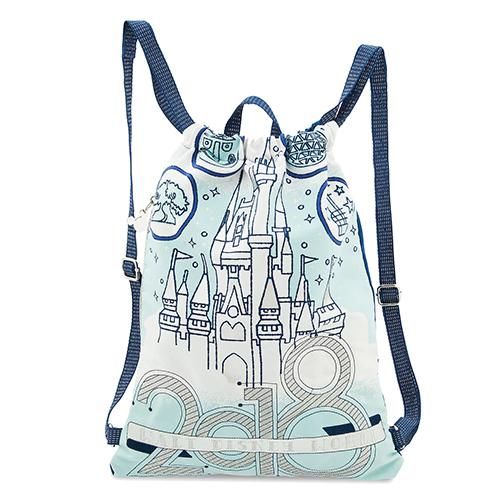 55cfd4be865 Disney Cinch Backpack - Walt Disney World 2018 Cinch Sack