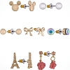 Disney Earrings Set - Mickey & France Icons