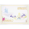 Disney Postcard - Cinderella's Kingdom by Ashley Taylor