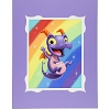 Disney Deluxe Print - Royal Purple Pigment by Kristin Tercek