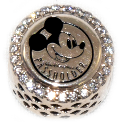Disney Pandora Charm Disney World Passholder Mickey And