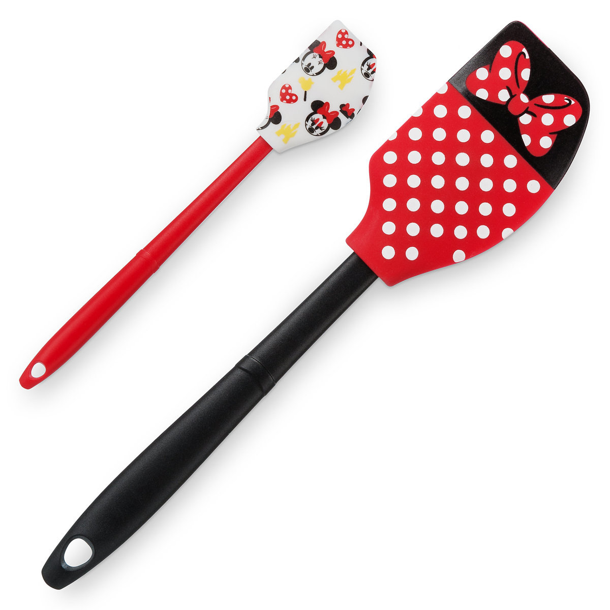 Disney Utensil Set Minnie Mouse Baking Spatula Set