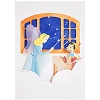 Disney Postcard - Pinocchio and Blue Fairy by Jackie Huang
