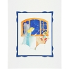 Disney Deluxe Artist Print - Pinocchio & Blue Fairy by Jackie Huang