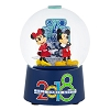 Disney Snow Globe - 2018 Mickey and Minnie Mouse Logo