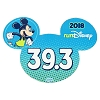 Disney Auto Magnet - runDisney 2018 Mickey Mouse - 39.3