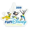 Disney Auto Magnet - runDisney 2018 Mickey Mouse and Friends