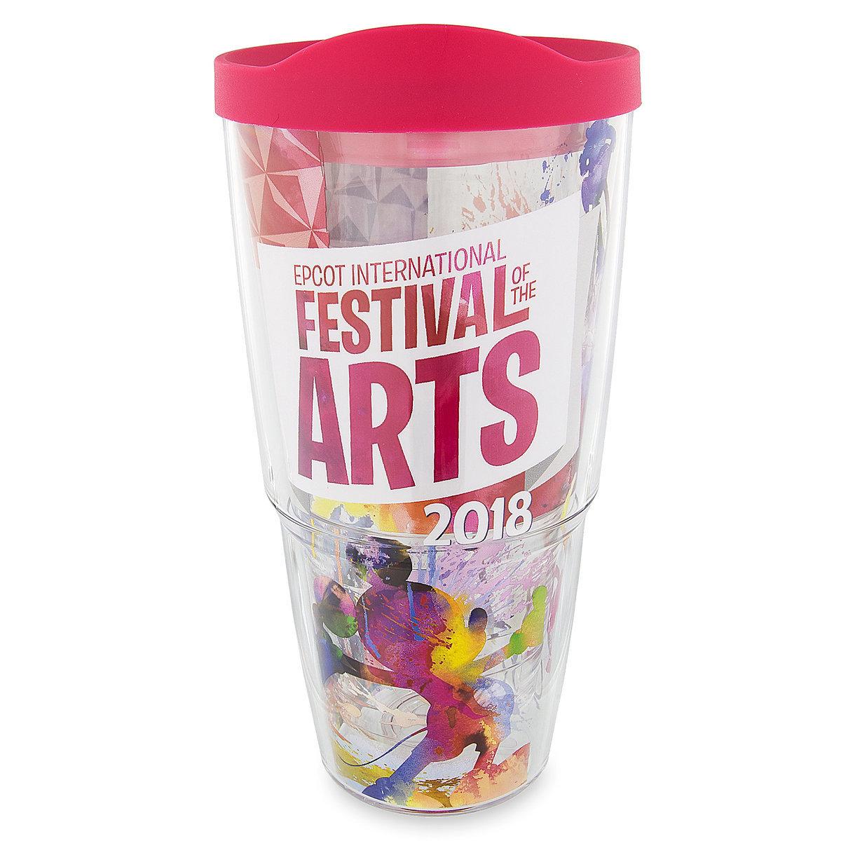 disney tervis tumbler - epcot festival of the arts 2018