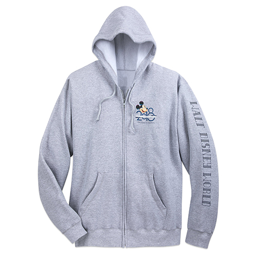 Disney ADULT Hoodie - 2018 Mickey and Friends Zip Hoodie