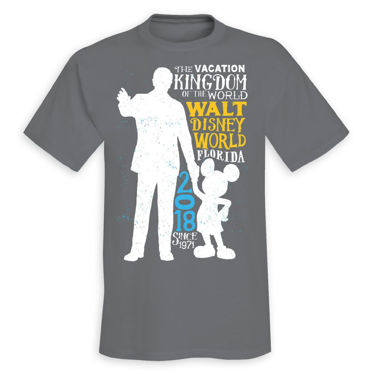 Disney Adult Shirt - 2018 Mickey and Walt - Limited Release