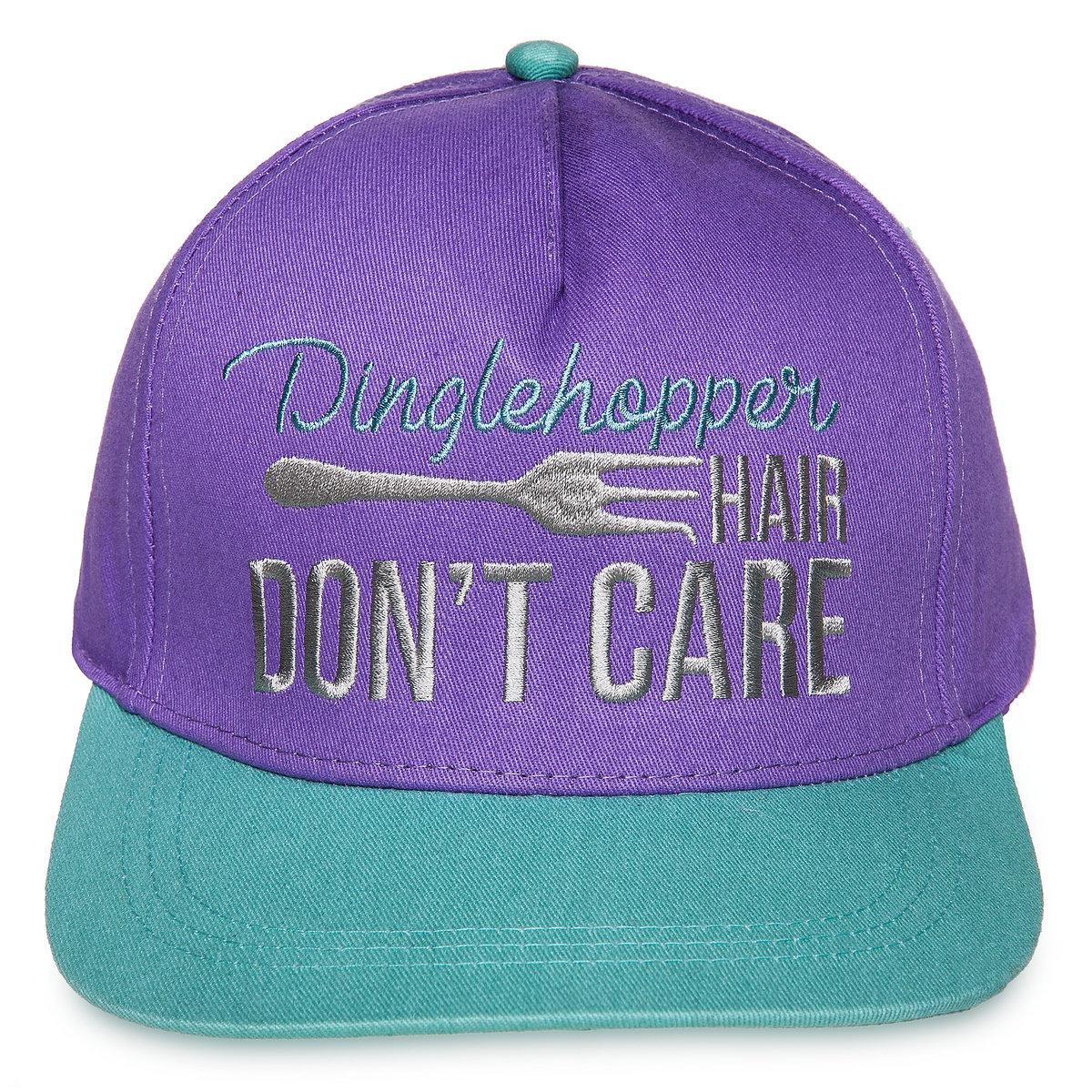 Disney Baseball Cap - Dinglehopper Hair Don t Care - Little Mermaid 991cc173597
