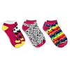 Disney Women's Socks - Mickey Mouse 3-Pack - Pink