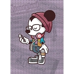 Disney Postcard - Happiest Hipster on Earth by Jerrod Maruyama