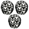 Disney Tails Pet Toy - Mickey Icon Pet Chew Toy Balls - 3 Pack