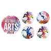 Disney Button Set - 2018 Festival of the Arts - Passholder