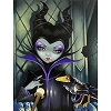 Disney Postcard - Maleficent Enthroned by Jasmine Becket-Griffith