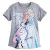 Disney Girls Shirt - Frozen Elsa Anna Olaf - Stirring Up Fun
