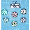 Disney 6 Pin Booster Set - STAR WARS - Snowflakes