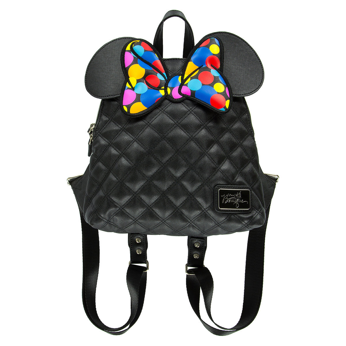 d5f01e40d2a Disney Boutique Backpack Bag - Minnie Rocks the Dots by Loungefly