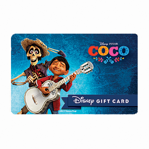 Disney Collectible Gift Card - Coco