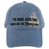 Disney Baseball Cap - Done Adulting Where are the Parks