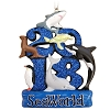 SeaWorld Figurine Ornament - 2018 Wildlife Logo