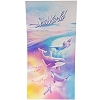 SeaWorld Beach Towel - Pastel Orcas Dolphin Polar Bear Turtle Penguin