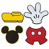 Disney Magnet Set - I Am Mickey Mouse - Body Parts