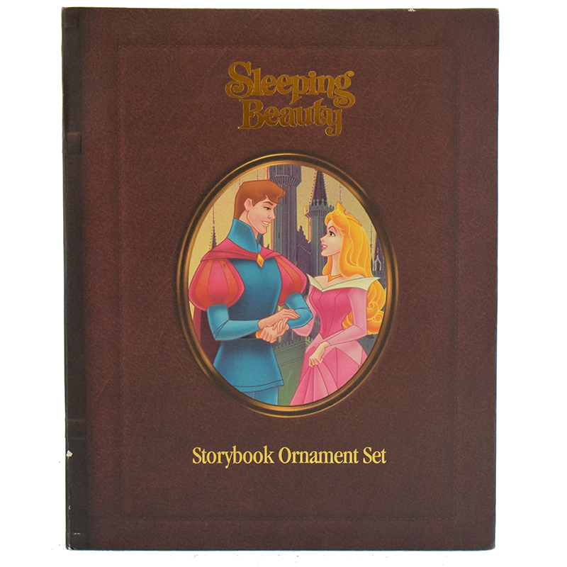 Disney Christmas Ornament Set - Storybook Set - Sleeping Beauty