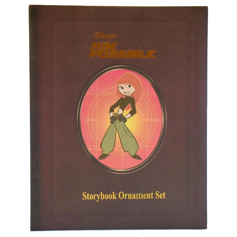 Disney Christmas Ornament Set - Storybook Set - Kim Possible