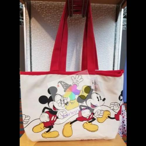 Disney Canvas Tote Bag - Timeless Mickey Mouse