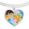 Disney Alex & Ani Bracelet - Cinderella and Prince - Valentine's Day