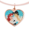 Disney Alex & Ani Bracelet - Ariel and Prince Eric - Valentine's Day