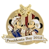 Disney President's Day Pin - 2018 Mickey and Minnie