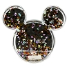 Disney Snowglobe Photo Frame - Mickey Icon and Confetti