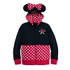 Disney Girls Hoodie - I Am Minnie Mouse Zip-Up Hoodie