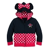 Disney Toddler's Hoodie - I Am Minnie Mouse Zip-Up Hoodie
