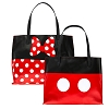 Disney Tote Bag - Mickey and Minnie Mouse Reversible Tote
