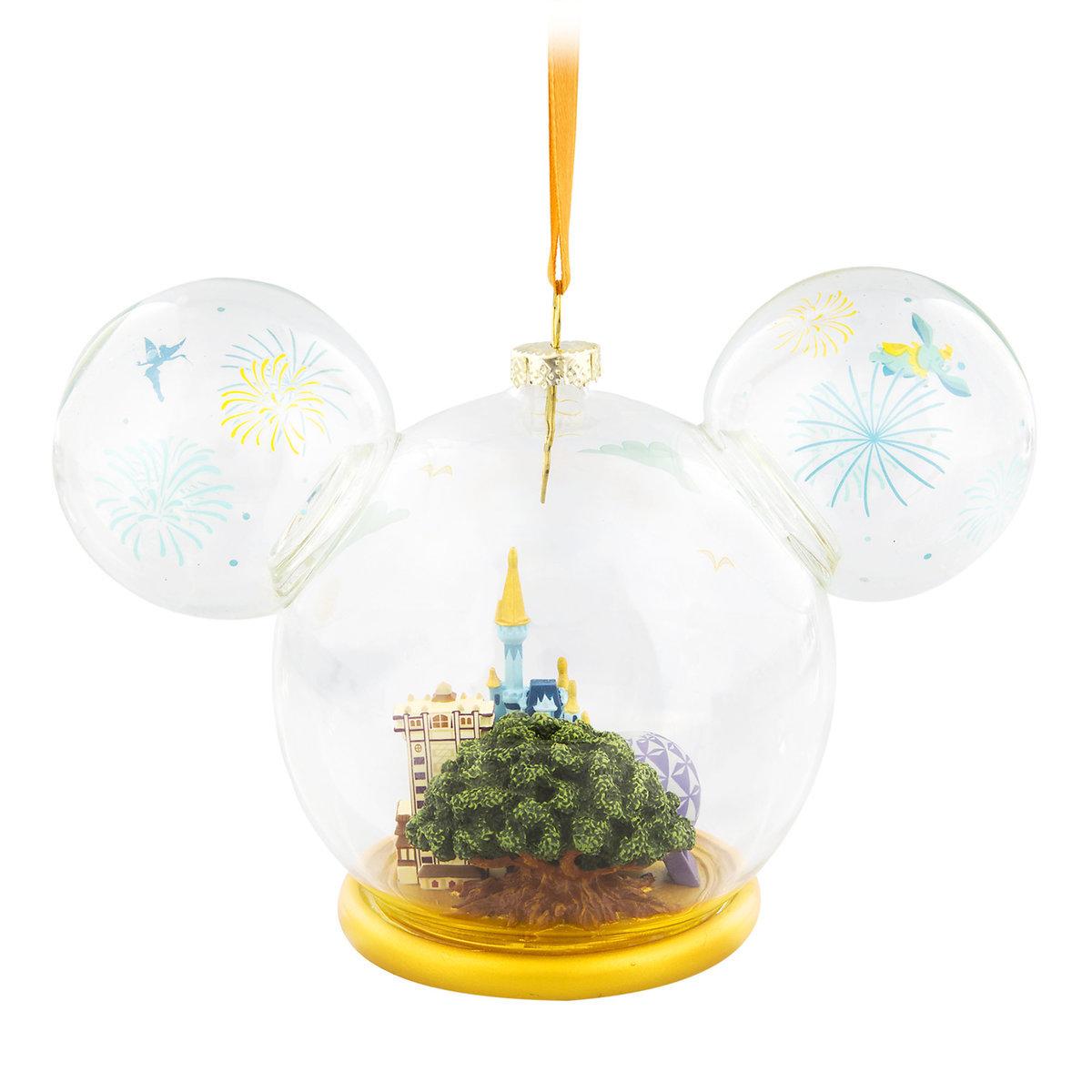 Disney Ornament - Ears Icon Globe - Walt Disney World Four ...