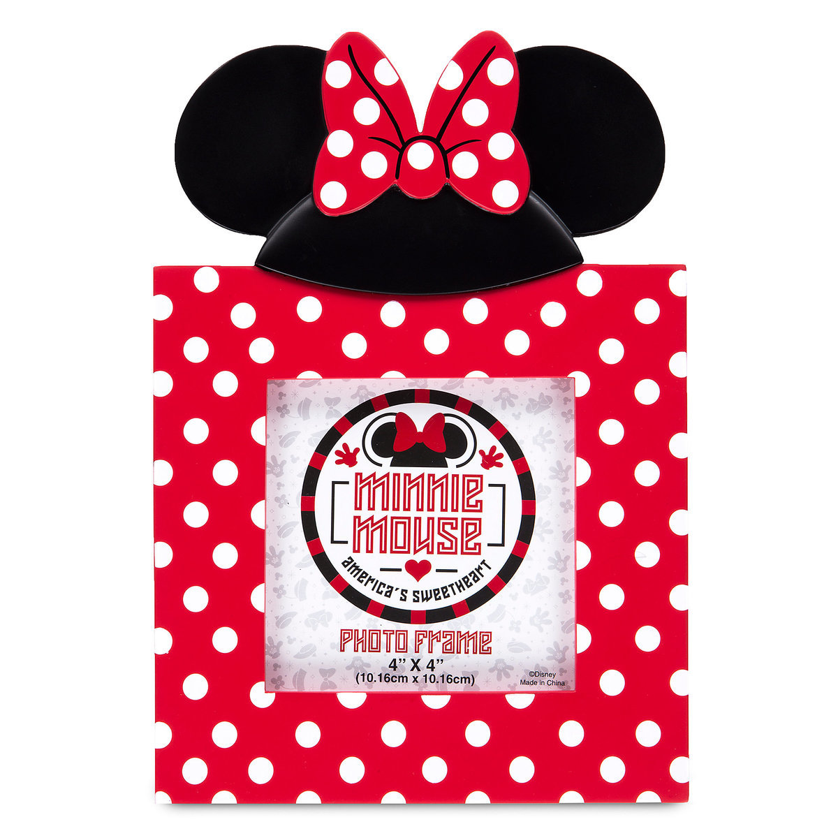 Your WDW Store - Disney Photo Frame - I Am Minnie Mouse Ears - 4\'\' x 4\'\'