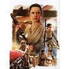 Disney Postcard - Star Wars The Scavenger from Jakku by Joe Corroney